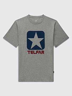 Converse x Telfar T-shirt Vintage Grey heather