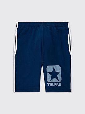 Converse x Telfar T-shirt Short Navy Peony