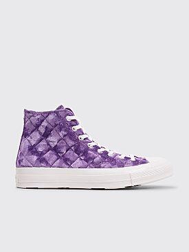 Converse x Golf Le Fleur Quilted Chuck 70 HI Tillandsia Purple