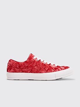 Converse x Golf Le Fleur Quilted One Star OX Barbados Cherry