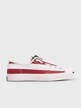 Converse x The Soloist Jack Purcell Zip OX White / Garnet