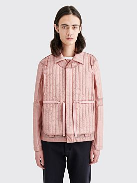 Craig Green Quilted Skin Nylon Jacket Pink