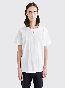 Craig Green Embroidered Hole T-shirt White