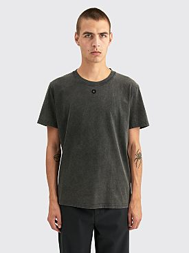 Craig Green Embroidered Hole T-shirt Black Acid