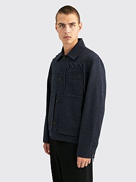 Craig Green Laced Worker Jacket Navy