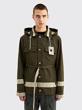 Craig Green Panelled Utility Jacket Olive