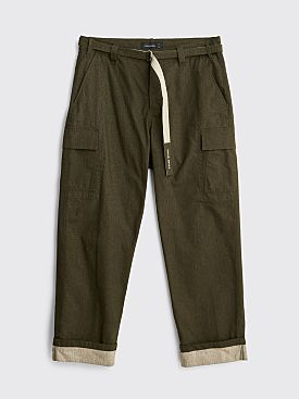 Craig Green Cargo Utility Trousers Olive