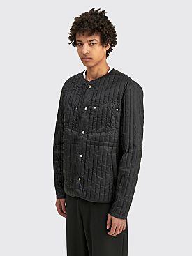 Craig Green Quilted Liner Jacket Black