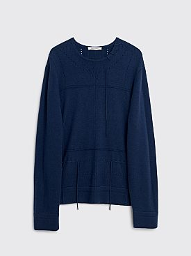 Craig Green Lace Cashmere Jumper Navy