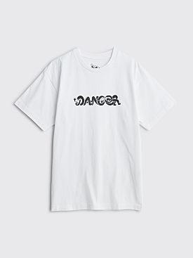 Dancer Cuddle Logo T-shirt White