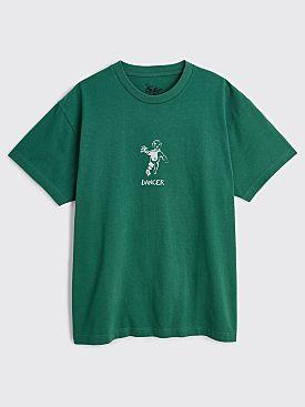 Dancer OG Logo T-shirt Dusty Turquoise