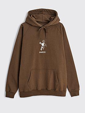 Dancer OG Logo Hooded Sweatshirt Dirty Green