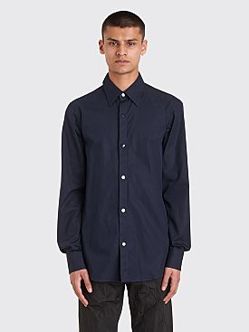 Dries Van Noten Cordero Shirt Midnight Navy