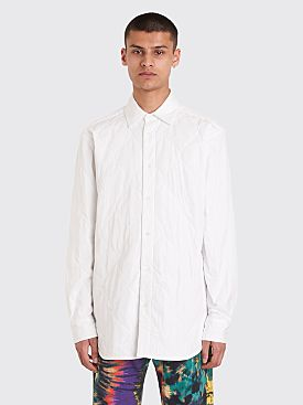 Dries Van Noten Constable Quilted Shirt White
