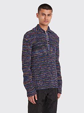 Dries Van Noten Tallis Knitted Sweater Multi Color
