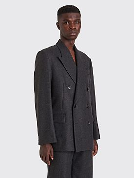 Dries Van Noten Braulio Double Breasted Jacket Anthracite