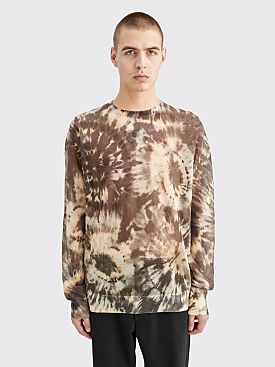 Dries Van Noten Taiwan Sweater Tie Dye Brown