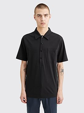 Dries Van Noten Hardy Polo Black