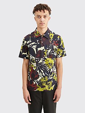 Dries Van Noten Hadler PR Shirt Polo Dessin D Multi Color
