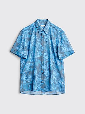 Dries Van Noten Claridge Bis Shirt Blue