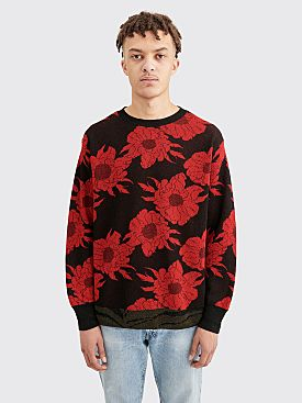 Dries Van Noten Jeorge Sweater Red / Black