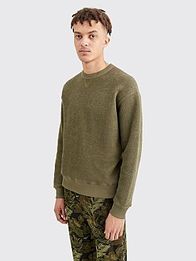 Dries Van Noten Hefel Sweater Kaki