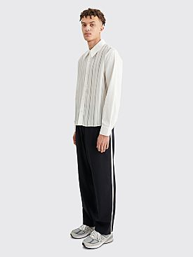 Dries Van Noten Pieny Bis Pants Navy