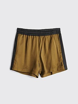 Dries Van Noten Perons Shorts Kaki