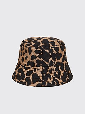 Dries Van Noten Gillian Hat Dessin C Leopard