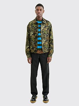 Dries Van Noten Vinkler Jacket Kaki