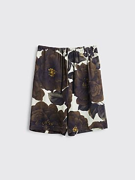 Dries Van Noten Pieny Shorts Ecru