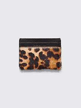 Dries Van Noten Card Holder Camel