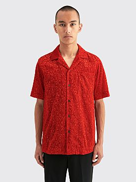 Dries Van Noten Carltone Tris Shirt Red