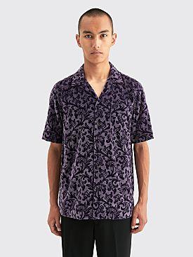 Dries Van Noten Carltone Tris Shirt Purple