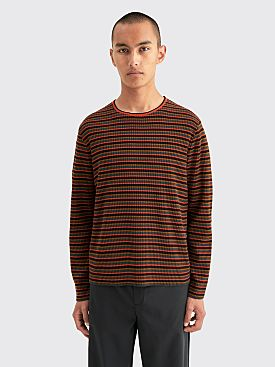 Dries Van Noten Maarten Sweater Vermillion Red