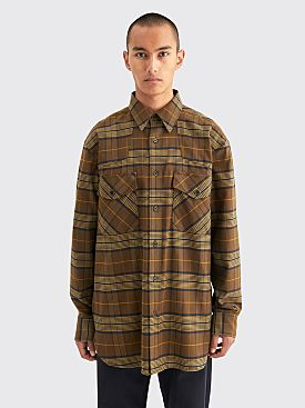 Dries Van Noten Carwick Shirt Kaki