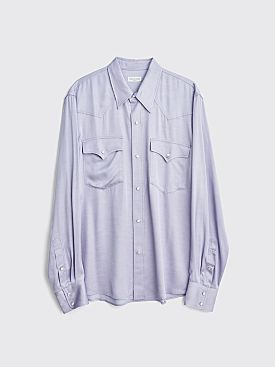 Dries Van Noten Curtain Shirt Lilac
