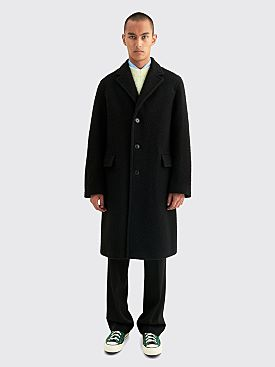 Dries Van Noten Rawly Coat Black