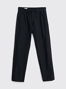 Dries Van Noten Perkino Tape Pants Navy