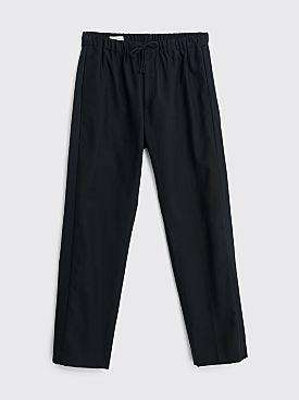 Dries Van Noten Perkino Tape Pants Navy