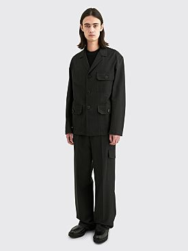 Dries Van Noten Bolt Jacket Anthracite