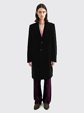 Dries Van Noten Rinot Coat Black