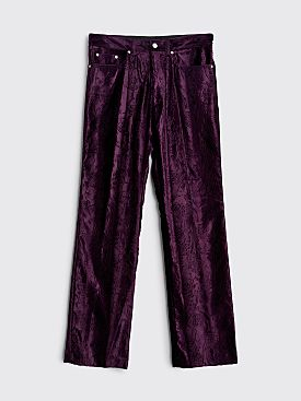 Dries Van Noten Powsen Pants Purple