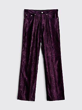 Dries Van Noten Powsen Pants Purple