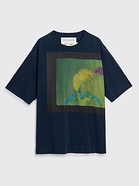 Dries Van Noten Heny T-shirt Navy