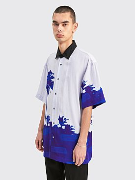 Dries Van Noten Cassidy Shirt Blue