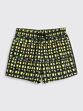 Dries Van Noten Phibbs Swim Shorts Yellow