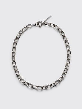 Dries Van Noten Chain Necklace Silver