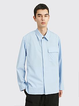 Dries Van Noten Cadin Shirt Light Blue