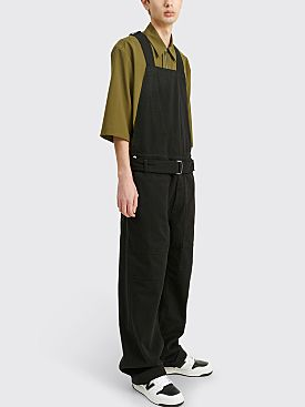 Dries Van Noten Pow Jumpsuit Black